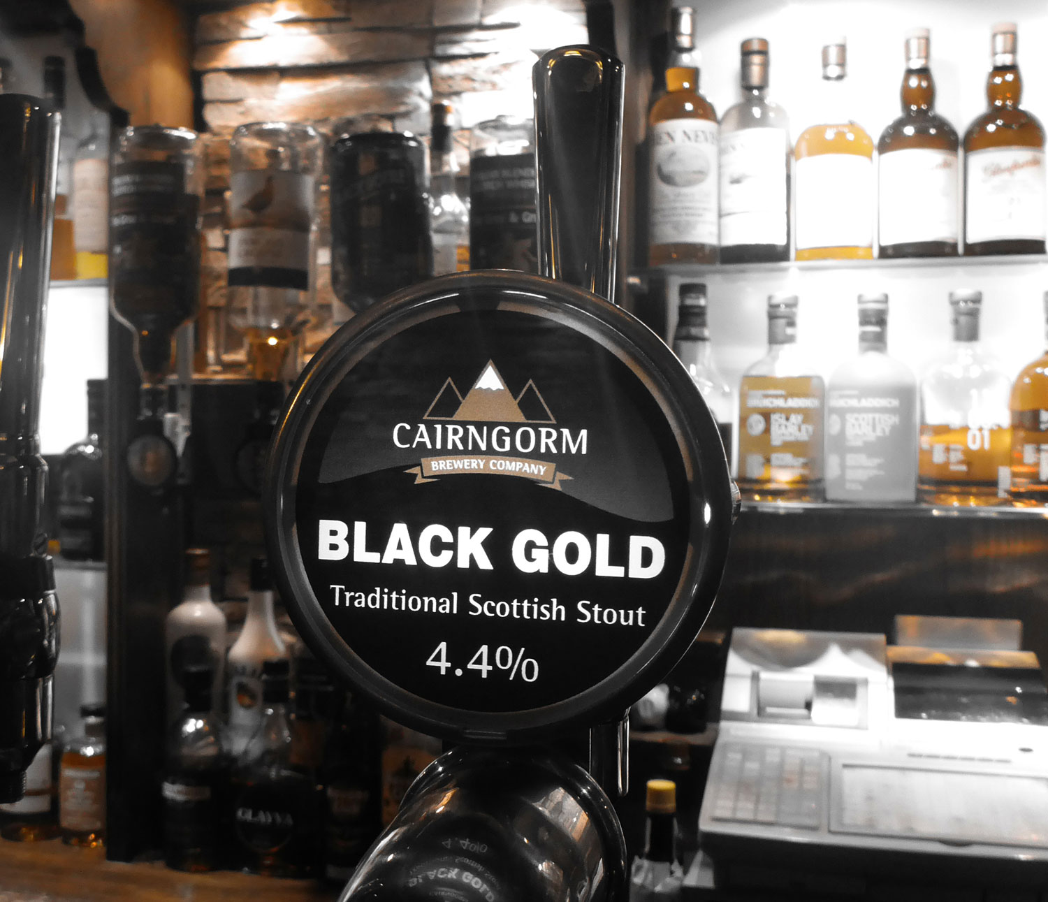 Cairngorm Black Gold Craft Stout