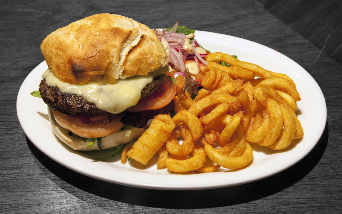 A Grog Burger