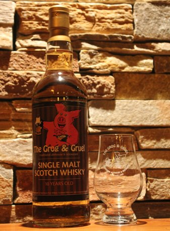 The Grog & Gruel 10 Year old malt whisky