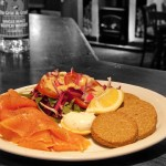 Smoked Salmon with Highland Oatcakes