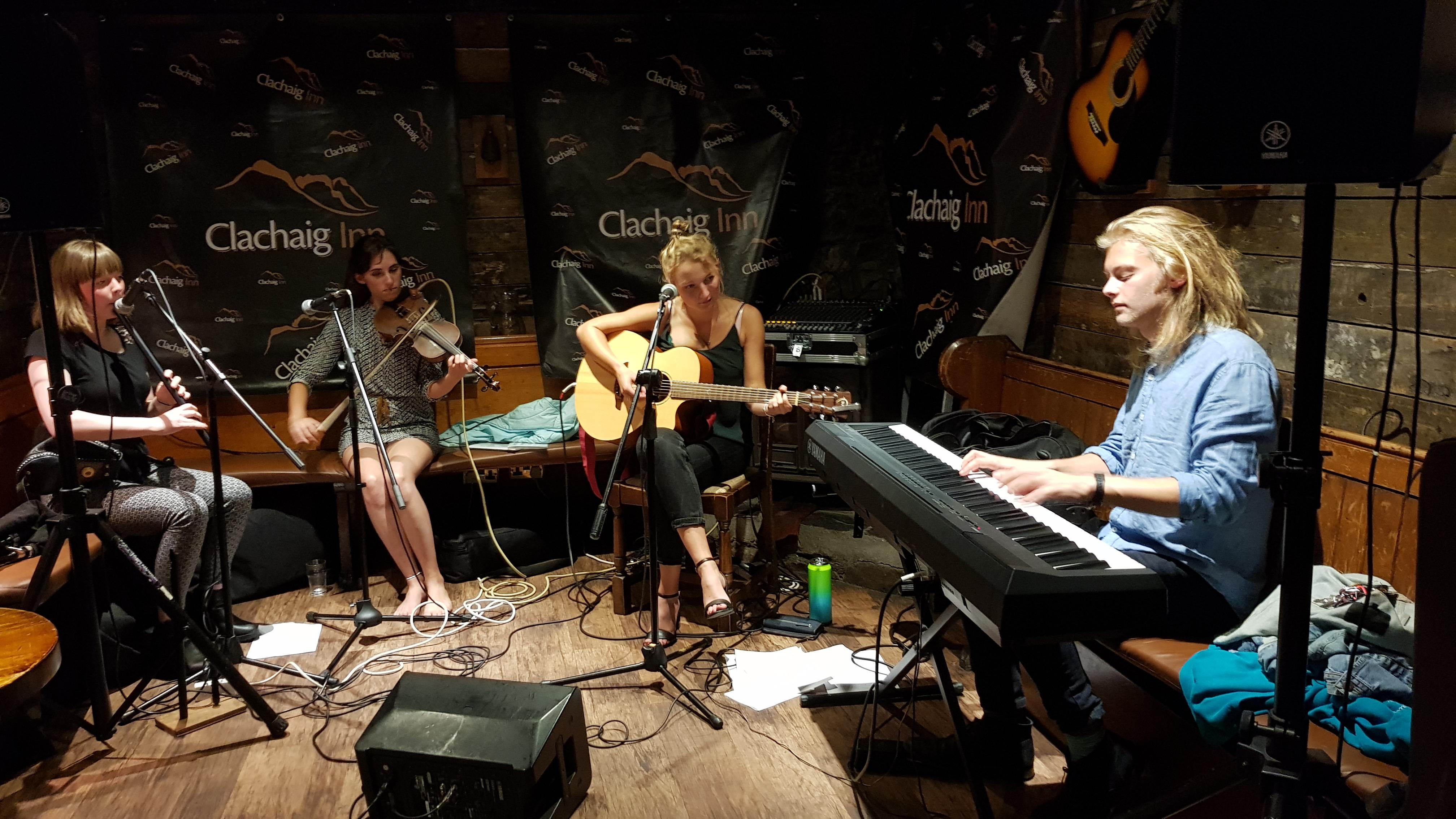 Rumskee at Clachaig Inn, Glenco